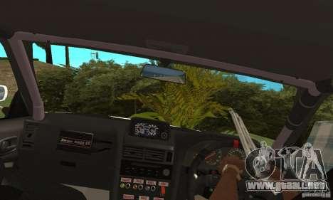 Nissan SkyLine R34 Tunable V2 para la visión correcta GTA San Andreas