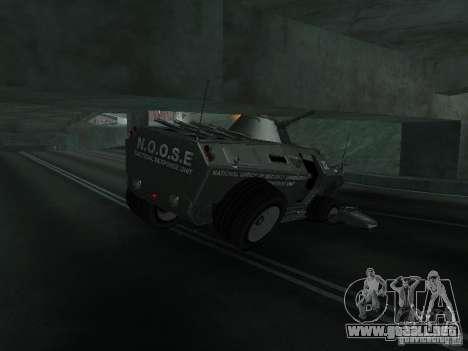 APC de GTA TBoGT IVF para vista inferior GTA San Andreas