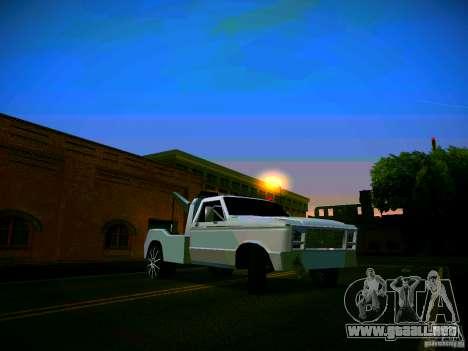 Towtruck tuned para visión interna GTA San Andreas