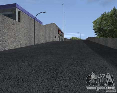 Salón del automóvil de SF para GTA San Andreas segunda pantalla