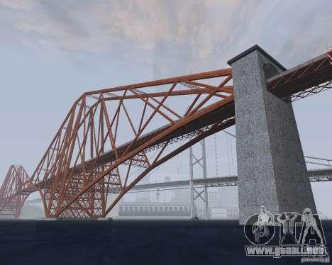 Nuevas texturas de tres puentes en SF para GTA San Andreas quinta pantalla