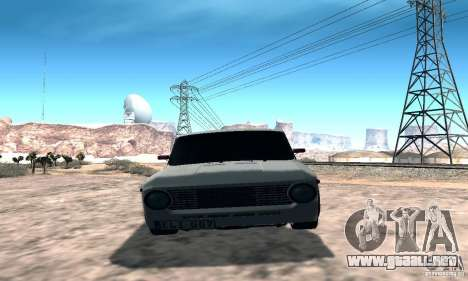 VAZ 2101 Sport para GTA San Andreas vista hacia atrás