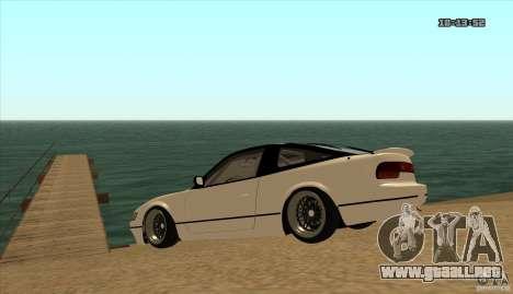 Nissan Sil180 JDM para la visión correcta GTA San Andreas