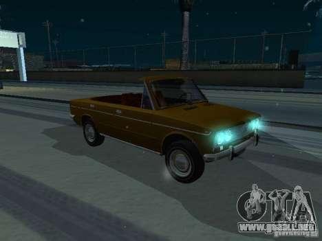 VAZ 2103 Convertible para la visión correcta GTA San Andreas