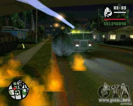Wrecking ball para GTA San Andreas séptima pantalla