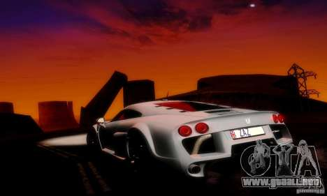 Noble M600 Final para vista inferior GTA San Andreas