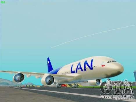 Airbus A380-800 Lan Airlines para GTA San Andreas