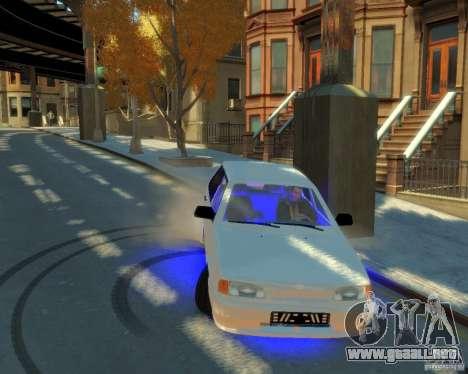 ВАЗ 2114 para GTA 4 vista hacia atrás
