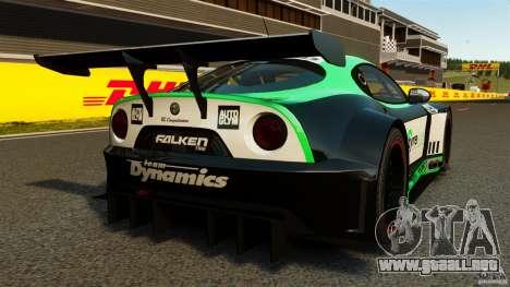 Alfa Romeo 8C Competizione Body Kit 2 para GTA 4 Vista posterior izquierda
