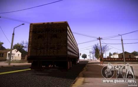Box Trailer para GTA San Andreas left