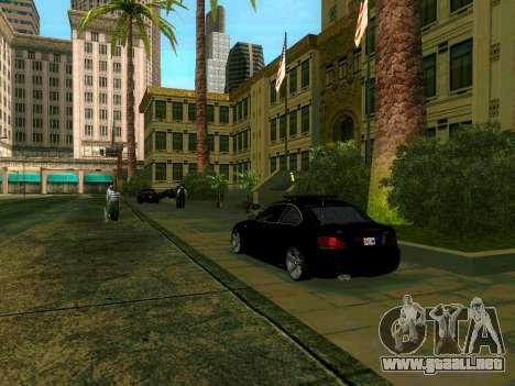 Renovación de la LSPD para GTA San Andreas sucesivamente de pantalla