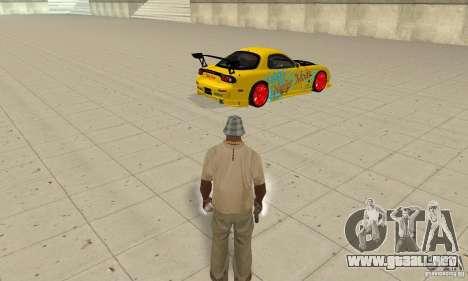Capacidad sobrenatural de CJ-me para GTA San Andreas segunda pantalla