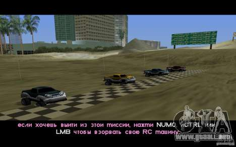 RC Bandit LCS para GTA Vice City segunda pantalla