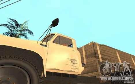 Gaz-52 para la vista superior GTA San Andreas