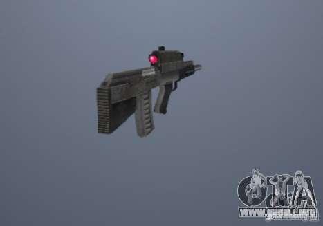 Adder OTS-101 para GTA San Andreas segunda pantalla