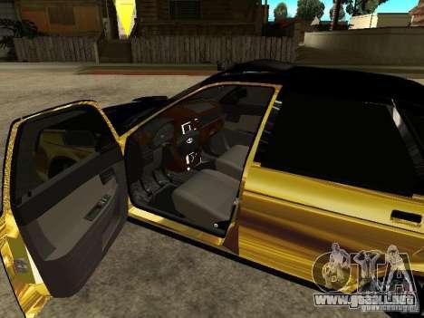 Lada 2170 Priora GOLD para la visión correcta GTA San Andreas