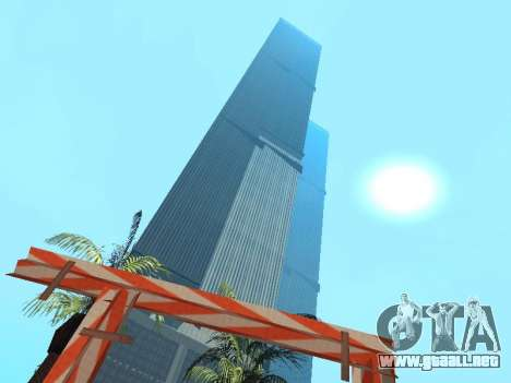 World Trade Center para GTA San Andreas segunda pantalla
