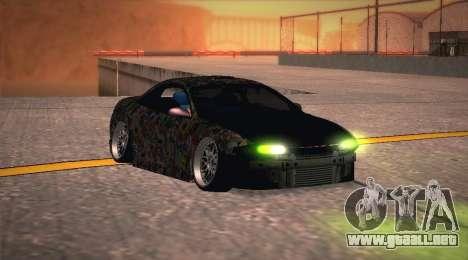 Mitsubishi Eclipse 1997 Drift para GTA San Andreas