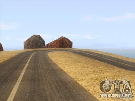 HQ Country Desert v1.3 para GTA San Andreas tercera pantalla