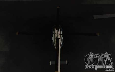 GTA IV Police Maverick para visión interna GTA San Andreas