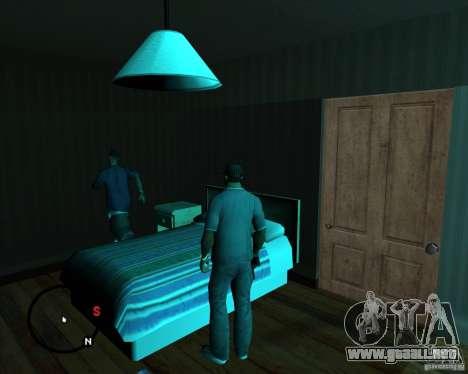 Ir a cualquier casa para GTA San Andreas tercera pantalla