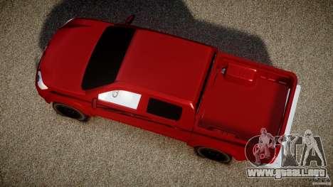 Toyota Hilux 2010 para GTA 4 visión correcta