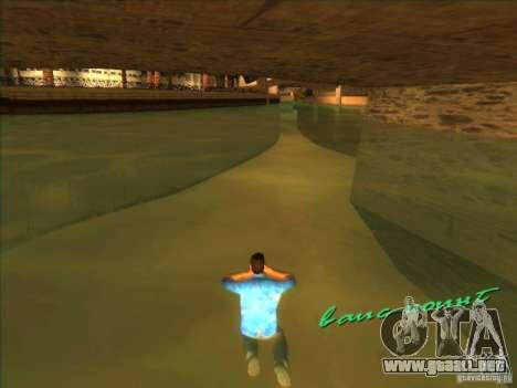 Nadar con la nueva animación para GTA Vice City tercera pantalla