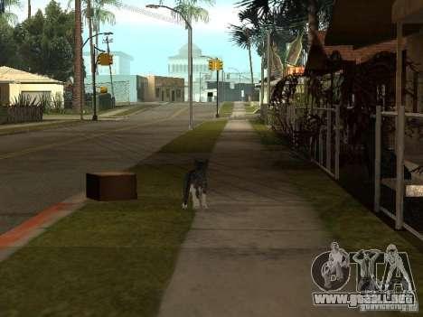 Animales para GTA San Andreas segunda pantalla