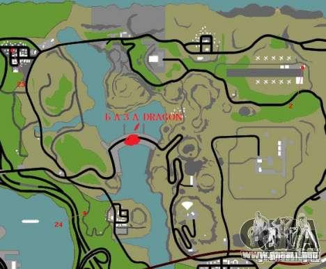 Dragón base v2 para GTA San Andreas décimo de pantalla