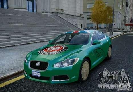 Jaguar XFR 2010 V.2.0 para GTA 4