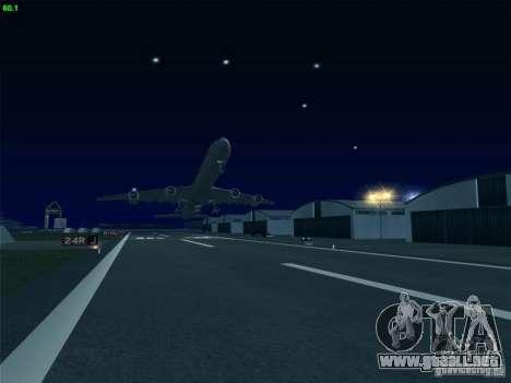 Airbus A340-600 Singapore Airlines para visión interna GTA San Andreas