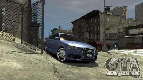 Audi S3 2006 v1.1 tonirovanaâ para GTA 4 visión correcta