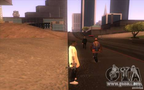 Nueva piel para GTA San Andreas tercera pantalla