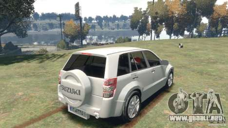 Suzuki Grand Vitara para GTA 4 left