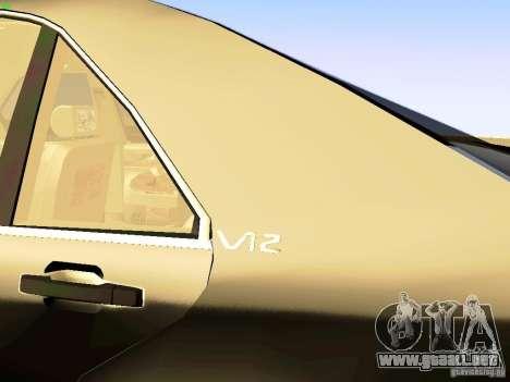 Mercedes-Benz S600 V12 para la visión correcta GTA San Andreas