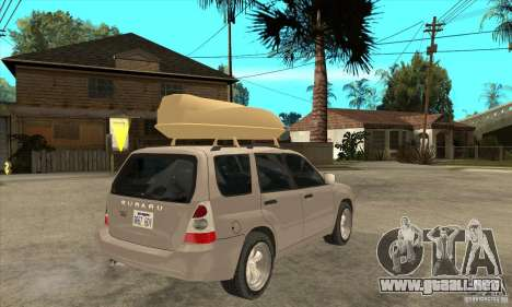 Subaru Forester 2005 para GTA San Andreas