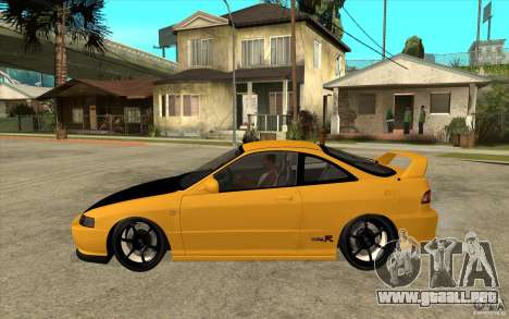 Honda Integra Spoon Version para GTA San Andreas left