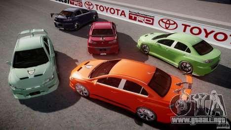 Mitsubishi Lancer Evolution X Tuning para GTA motor 4