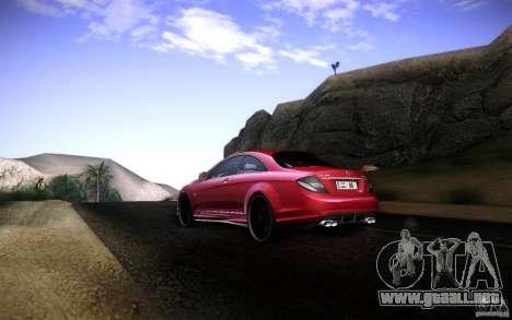 Mercedes Benz CL65 AMG para la visión correcta GTA San Andreas