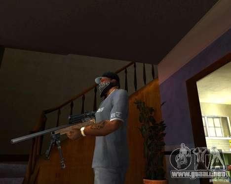 El Rifle M24 para GTA San Andreas segunda pantalla