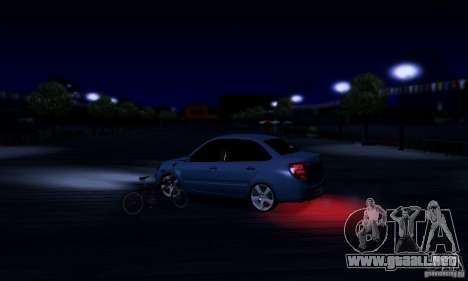 Lada Granta Light Tuning para visión interna GTA San Andreas