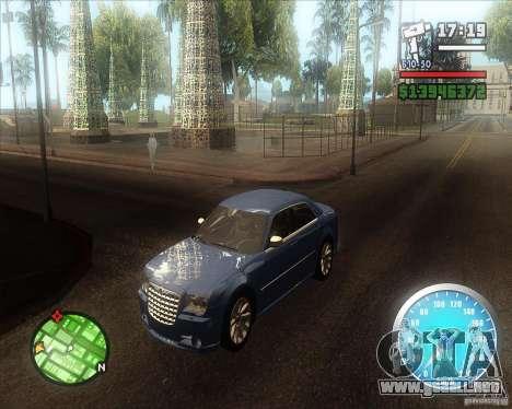 MadDriver s ENB v.3.1 para GTA San Andreas sucesivamente de pantalla