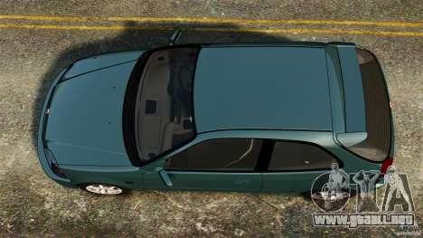 Honda Civic Type R (EK9) para GTA 4 visión correcta