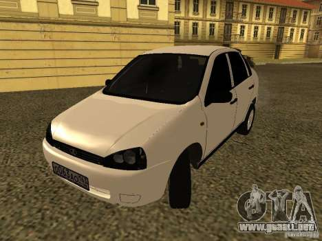 VAZ 1118 para GTA San Andreas