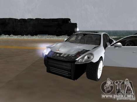 Porsche Panamera Turbo Tunable para visión interna GTA San Andreas