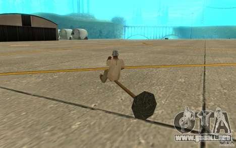 Flying Broom para la visión correcta GTA San Andreas