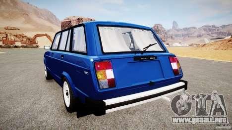 VAZ 2104 Final Fix (sin tonificación) para GTA 4 visión correcta