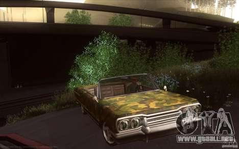 Savanna HD para la visión correcta GTA San Andreas