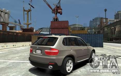 BMW X5 2009 para GTA 4 visión correcta