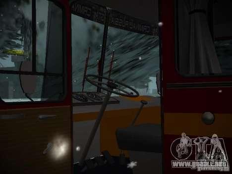 LAZ 699N para visión interna GTA San Andreas